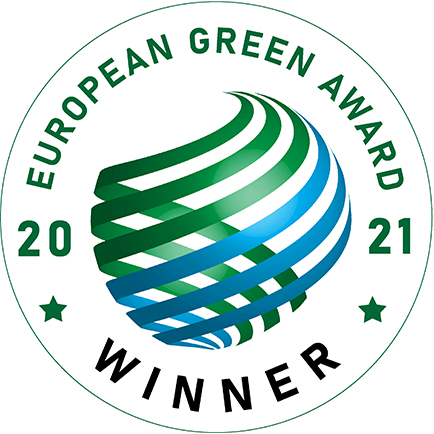 Winner Label - European Green Award